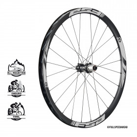 E-MTB wheels carbon rear