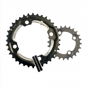 MTB double chainring