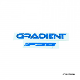 FSA GRADIENT 35 HANDLEBAR STICKERS_Blue