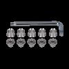 螺栓配件銀色 T30 E0024