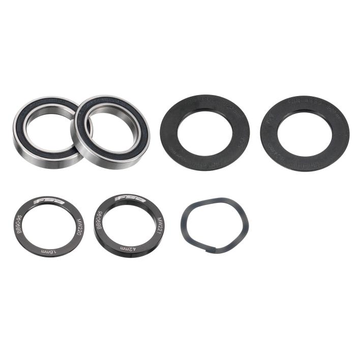 轴承配件包 BB90 TREK适用於FSA铝合金M/EXO大盘