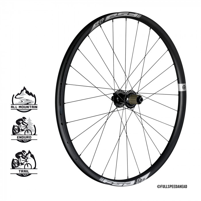 E-MTB wheels alloy rear