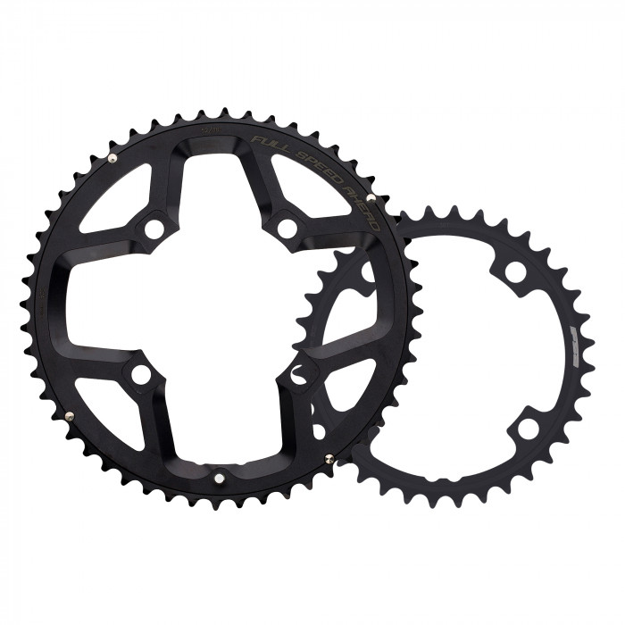Gossamer ABS Black chainring_outer