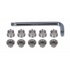 Schraubenset Silber T30 E0024